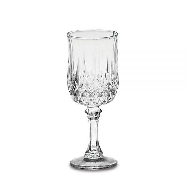 Σετ 6 γυάλινα κολωνάτα ποτήρια κρασιού 150 ml