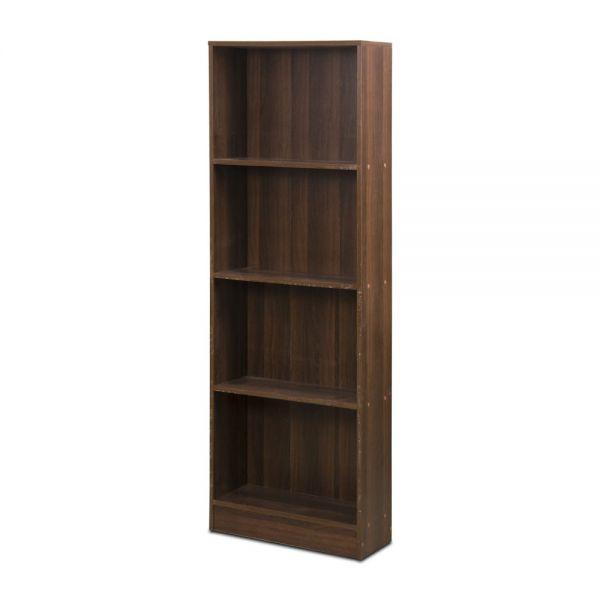 Ξύλινη βιβλιοθήκη με 4 ράφια