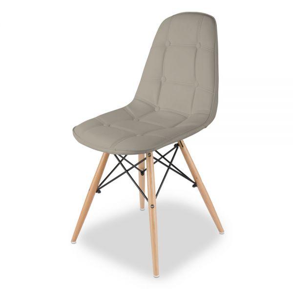 Καρέκλα 44χ53χ83 εκ., μπεζ