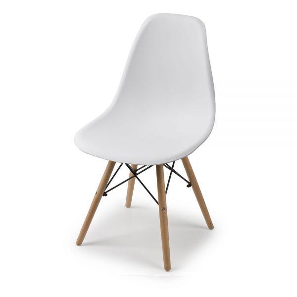 Καρέκλα 46χ51χ82 εκ., λευκή