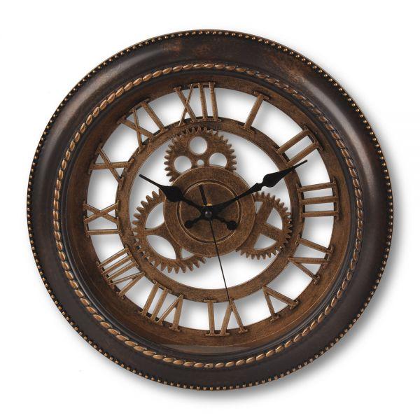 Ρολόι τοίχου με γρανάζια