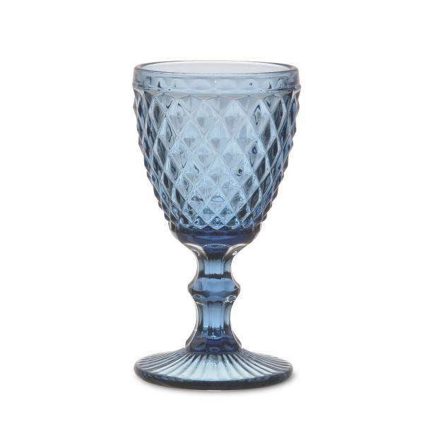 """Ποτήρι κρασιού κολωνάτο 210ml """"Diamonds"""""""