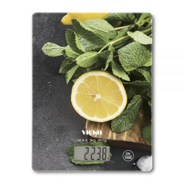 ΖΥΓΑΡΙΑ ΚΟΥΖΙΝΑΣ ΗΛΕΚΤΡΟΝΙΚΗ Lemon 5kg 20Χ15εκ