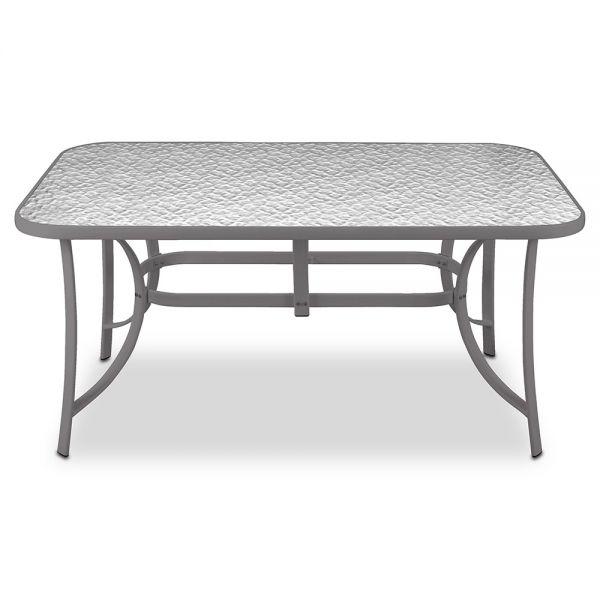 Μεταλλικό τραπέζι κήπου 140x80x71 εκ.