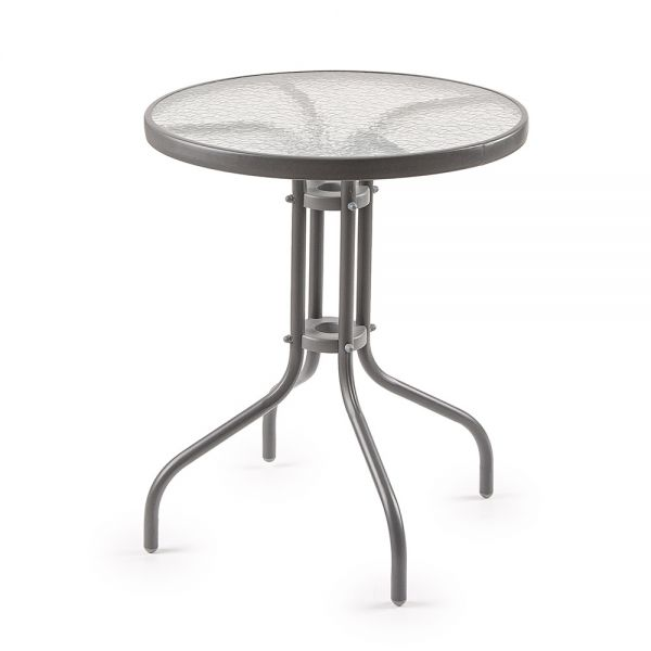 Μεταλλικό τραπέζι κήπου 80x71 εκ.