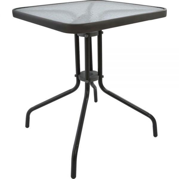Μεταλλικό τραπέζι κήπου 80x80x70 εκ.