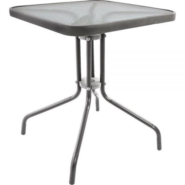 Μεταλλικό τραπέζι κήπου 80x80x71 εκ.