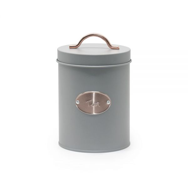 """Μεταλλικό Κουτί αποθήκευσης """"tea"""""""