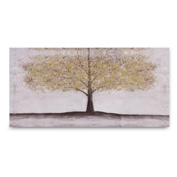 Πίνακας ελαιογραφίας φθινοπωρινό δέντρο 50χ100εκ.