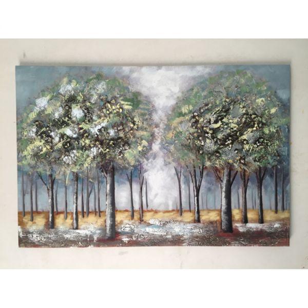 Πίνακας ελαιογραφίας φθινοπωρινό τοπίο, 120x80 εκ.