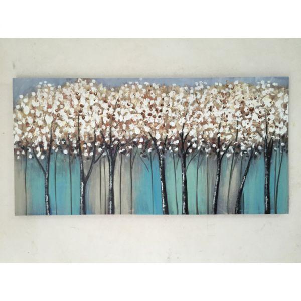 Πίνακας ελαιογραφίας φθινοπωρινό τοπίο, 120x60 εκ.