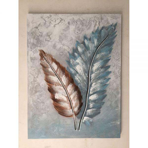 Πίνακας ελαιογραφίας φτερά, 60x80 εκ.