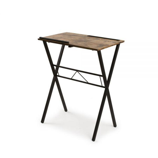 Αναδιπλούμενο τραπέζι laptop, 60x40x76 εκ.