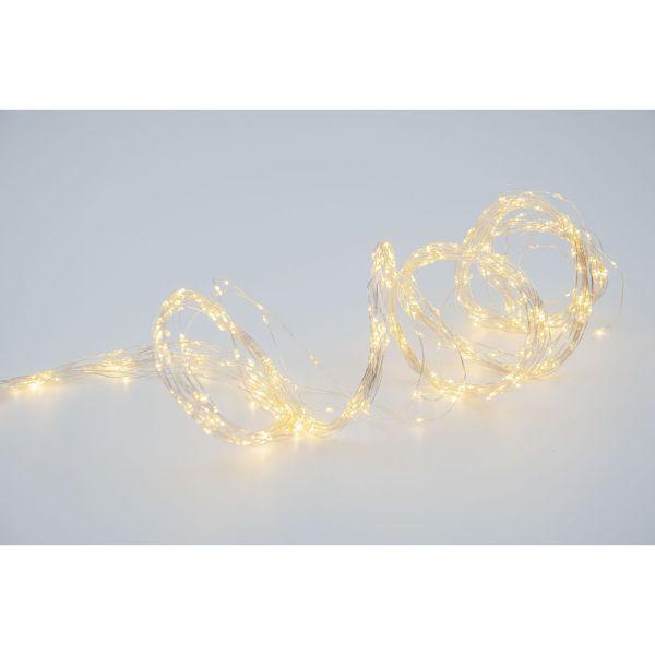 680 λευκά λαμπάκια LED, σχ. χταπόδι