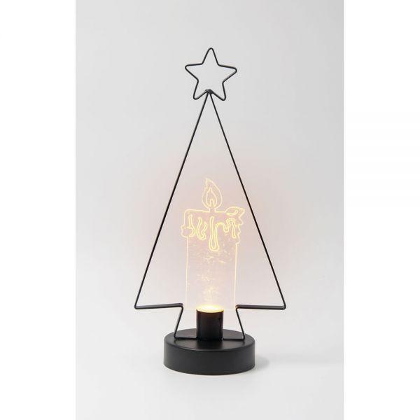 Φωτιστικό Christmas Tree με κερί LED