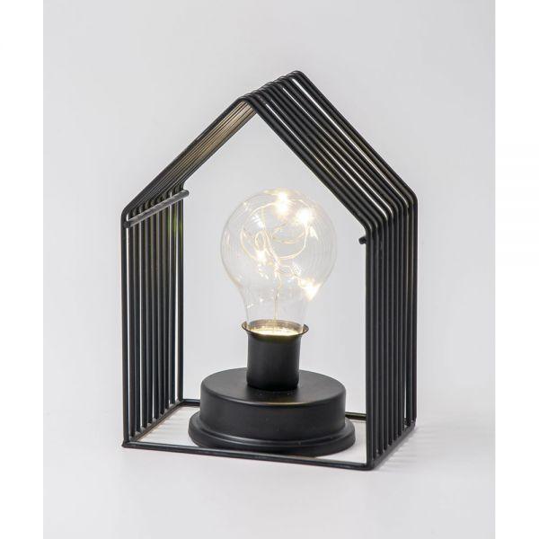 Φωτιστικό Σπιτάκι με λάμπα LED, 18 εκ.