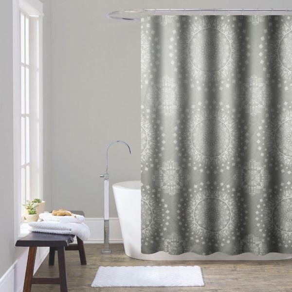 """Κουρτίνα μπάνιου """"Mandala"""" 180x200 εκ."""