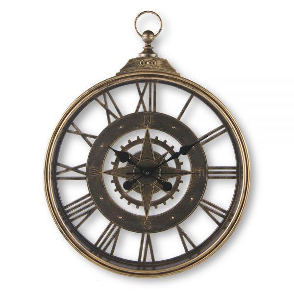 Ρολόι τοίχου πυξίδα