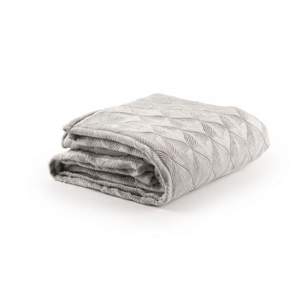 Υπέρδιπλη κουβέρτα με ανάγλυφο σχέδιο