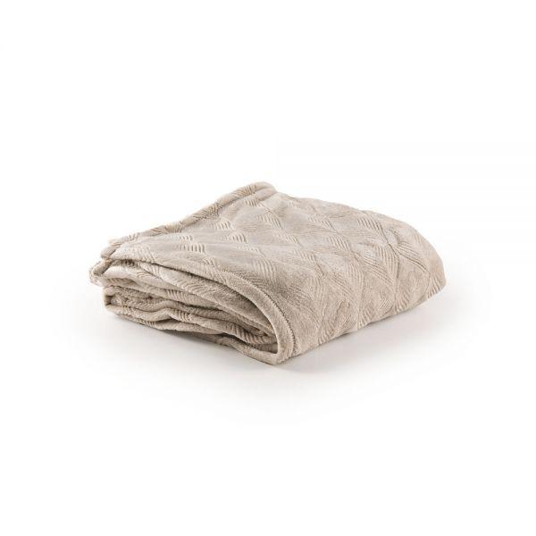Μονή κουβέρτα με ανάγλυφο σχέδιο