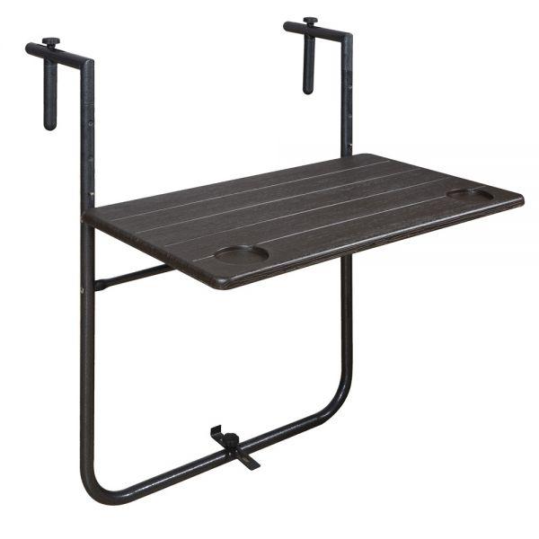 Κρεμαστό τραπέζι μπαλκονιού 60χ36χ73.5 εκ.