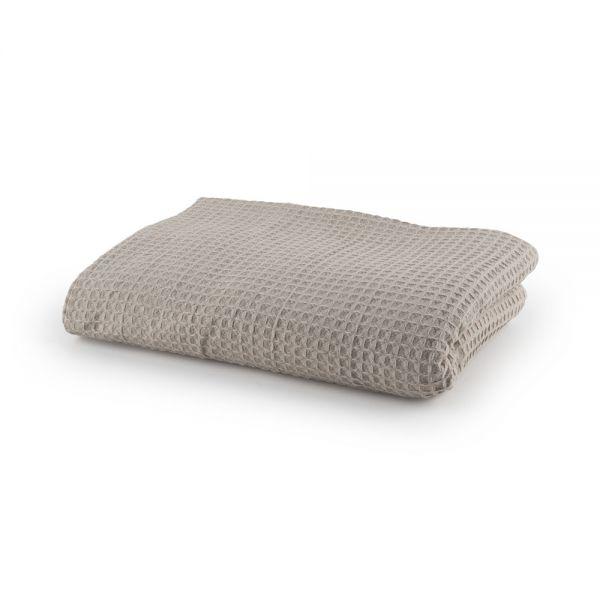 Βαμβακερή κουβέρτα πικέ μονή
