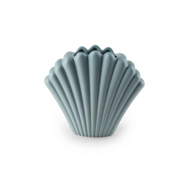 Κεραμικό βάζο 18.2 εκ., γκρι-μπλε