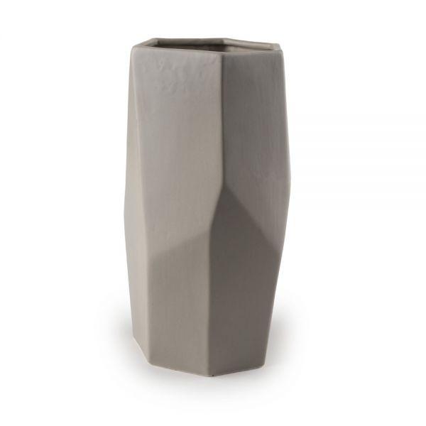Κεραμικό βάζο 28.5 εκ., greige