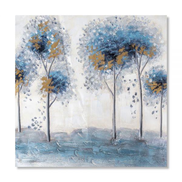 Πίνακας ελαιογραφίας δέντρα, 80χ80 εκ.